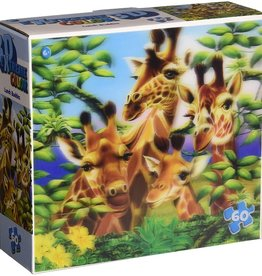 Masterpieces Puzzles & Games Lunch Buddies (Lenticular 60pc)