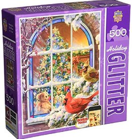 Masterpieces Puzzles & Games Home for the Holidays (Glitter 500pc)