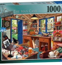 Ravensburger My Haven - The Man Cave (1000pc)