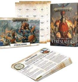 Games Workshop Warscroll Cards (Fyreslayers)