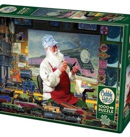 Cobble Hill Puzzle Company Santa's Hobby (1000pc)