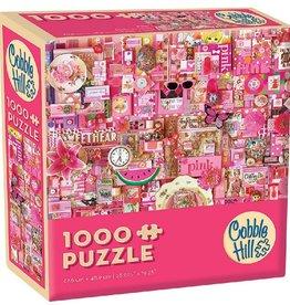 Cobble Hill Puzzle Company Pink (1000pc)