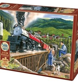Cobble Hill Puzzle Company Steaming Out of Town (275pc)
