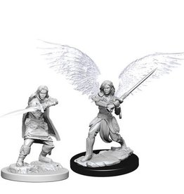 WizKids Female Aasimar Fighter