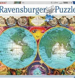 Ravensburger Antique Map (3000pc)