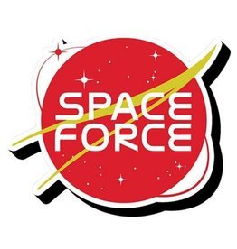 Space Force Funky Chunky Magnet