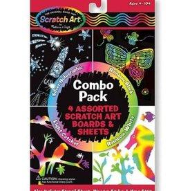 Melissa & Doug Scratch Art (Combo Pack)