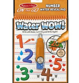 Melissa & Doug Water Wow (Number) Water-Reveal Pad