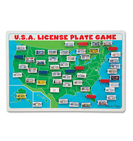 Melissa & Doug Flip to Win U.S.A. License Plate Game