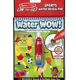 Melissa & Doug Water Wow (Sports) Water-Reveal Pad