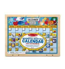 Melissa & Doug Magnetic Monthly Wooden Calendar