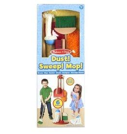 Melissa & Doug Dust! Sweep! Mop! Play Set