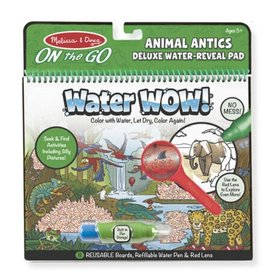 Melissa & Doug Water Wow (Animal Antics) Deluxe Water-Reveal Pad