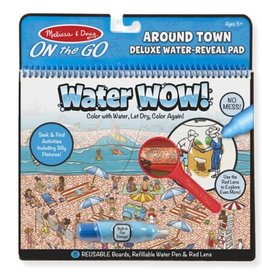 Melissa & Doug Water Wow (Around Town) Deluxe Water-Reveal Pad