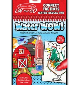 Melissa & Doug Water Wow (Farm Connect the Dots) Water-Reveal Pad