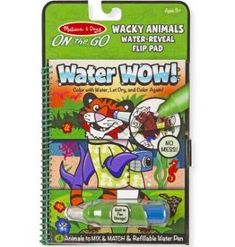 Melissa & Doug Water Wow (Wacky Animals) Water-Reveal Pad