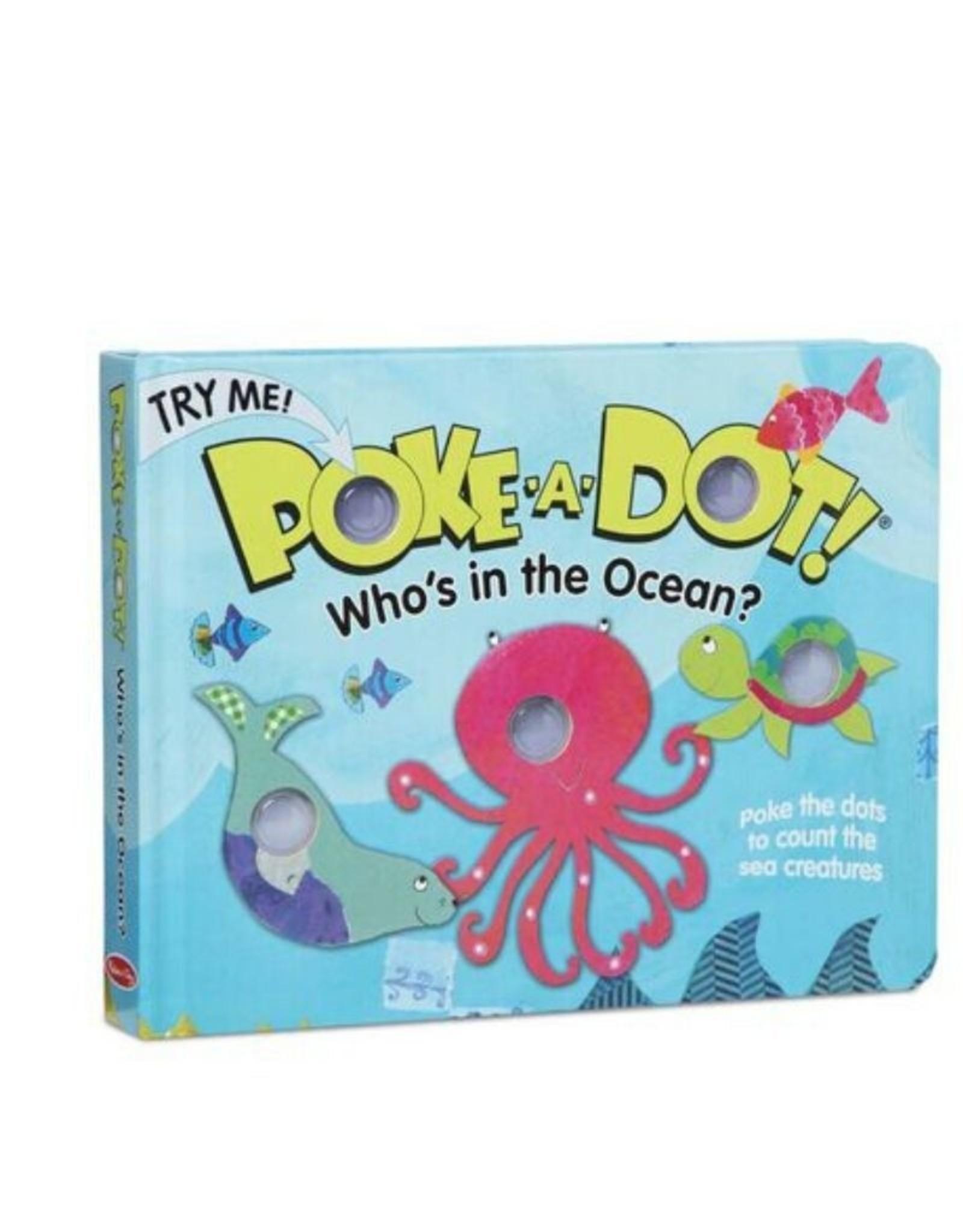 Melissa & Doug Poke-A-Dot! - Who's in the Ocean?