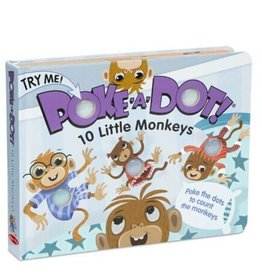 Melissa & Doug Poke-A-Dot! - 10 Little Monkeys