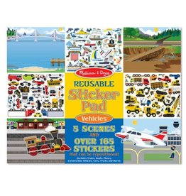 Melissa & Doug Reusable Sticker Pad (Vehicles)