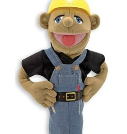 Melissa & Doug Construction Worker Puppet