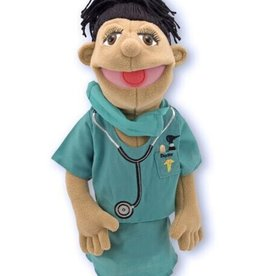 Melissa & Doug Surgeon Puppet in Scrubs