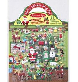 Melissa & Doug Puffy Sticker Play Set (Santa's Workshop)