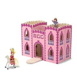 Melissa & Doug Fold & Go Wooden Princess Castle