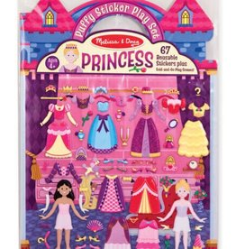 Melissa & Doug Puffy Sticker Play Set (Princess)