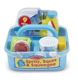 Melissa & Doug Let's Play House! Spray, Squirt & Squeegee Set