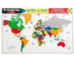 Melissa & Doug Learning Mat (Countries of the World)