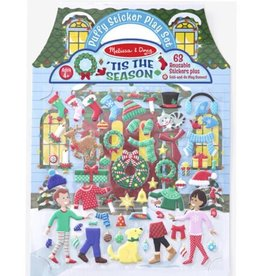 Melissa & Doug Puffy Sticker Play Set ('Tis the Season)