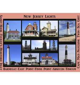 Big Dog Puzzles New Jersey Lights (513pc)