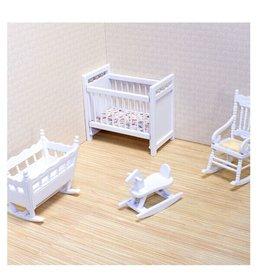 Melissa & Doug Doll House (Nursery Furniture Set)