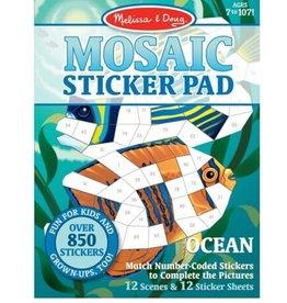 Melissa & Doug Mosaic Sticker Pad (Ocean)