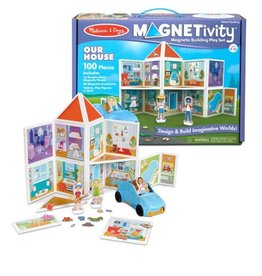 Melissa & Doug Magnetivity Magnetic Building Play Set (Our House)