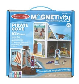 Melissa & Doug Magnetivity Magnetic Building Play Set (Pirate Cove)