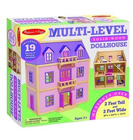 Melissa & Doug Doll House (Multi-Level)