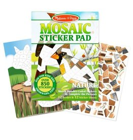 Melissa & Doug Mosaic Sticker Pad (Nature)