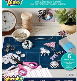 Shrinky Dinks Printed Pattern Creative Mix