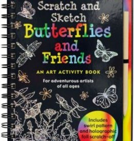 Scratch and Sketch (Butterflies and Friends)