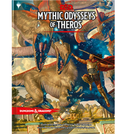 Wizards of the Coast Mythic Odysseys of Theros (Sourcebook, Standard)