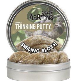 Smiling Sloth Sparkle Thinking Putty
