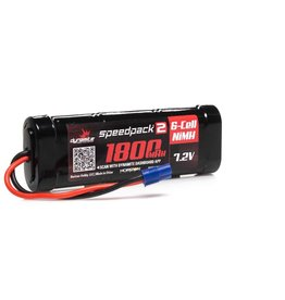 7.2V 1800mAh 6-Cell Speedpack2 Flat NiMH Battery: EC3