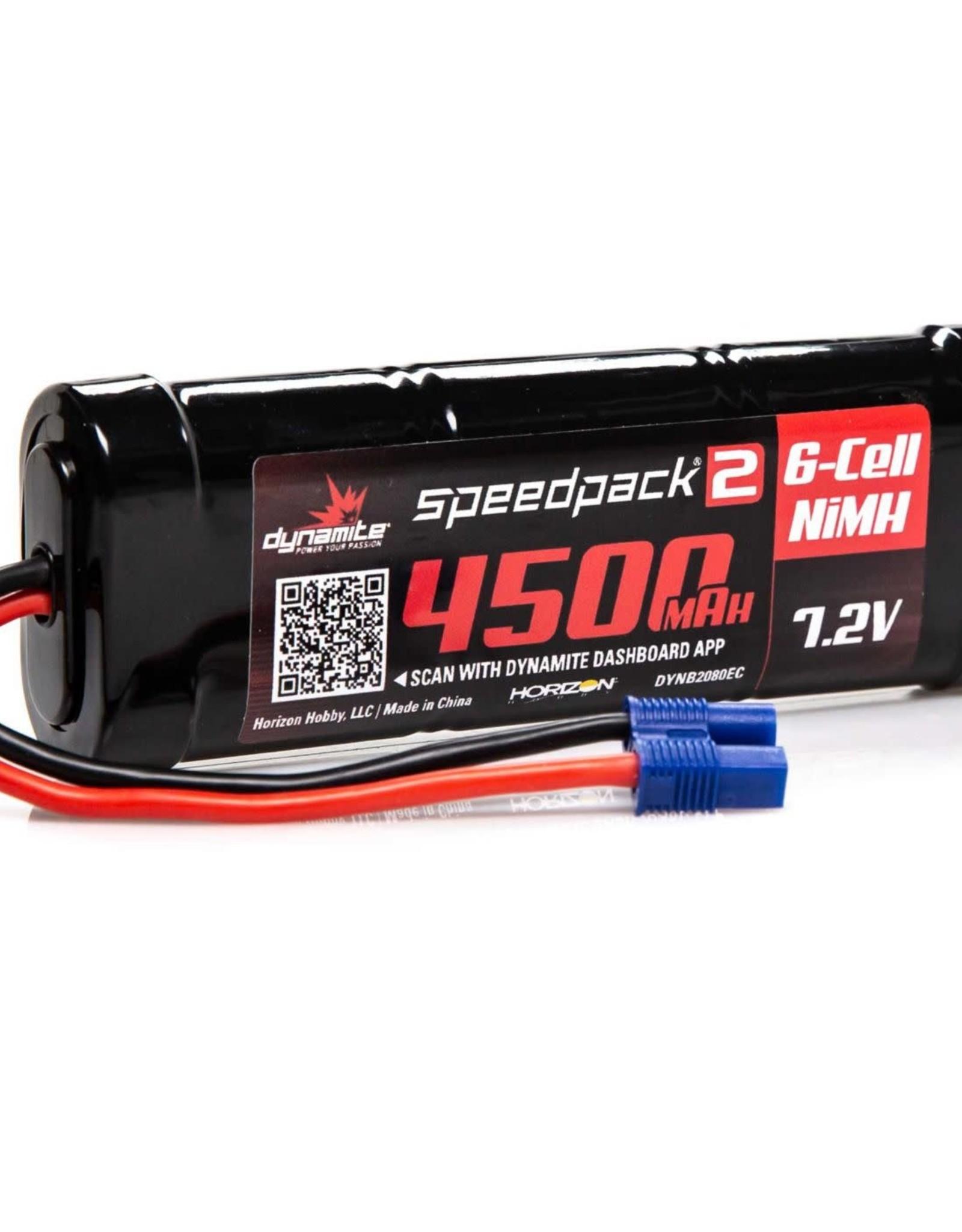 7.2V 4500mAh 6-Cell Speedpack2 Flat NiMH Battery: EC3