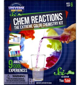 Chem Reactions: The Extreme Color Chemistry Kit