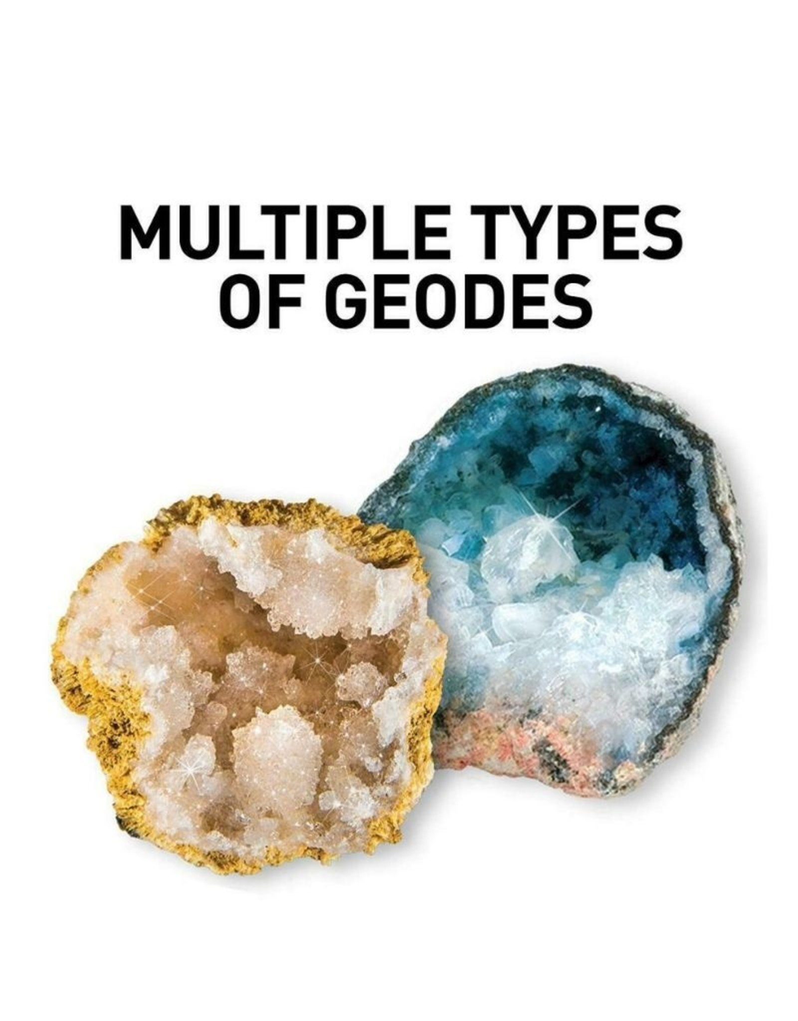 Break Open 4 Geodes Kit