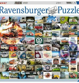Ravensburger 99 VW Campervan Moments (3000pc)