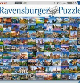Ravensburger 99 Beautiful Places in Europe (3000pc)