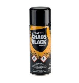 Games Workshop Chaos Black (Spray 400ml)