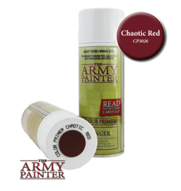The Army Painter Color Primer: Chaotic Red (Spray 400ml)